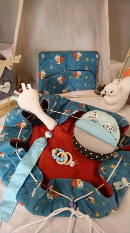 Gamme maman-bébé tapissière décoratrice