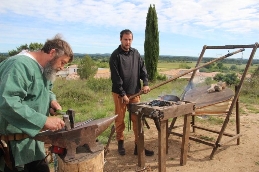 Démonstrations médiévales à La Calmette Gard