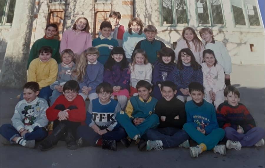 Classe de CE2 en 89 à Fons (Gard)