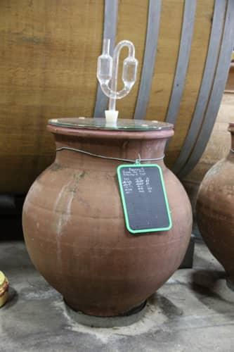 Amphore de vinification