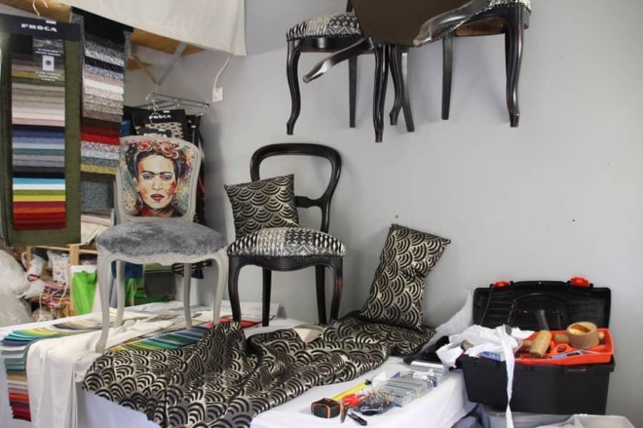 Atelier de tapissière décoratrice