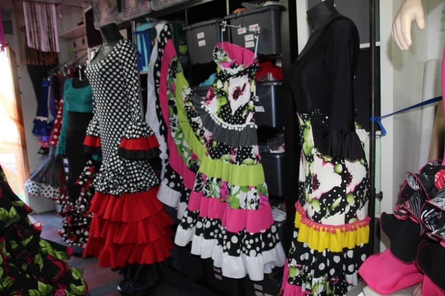 Créateur de robes de flamenco