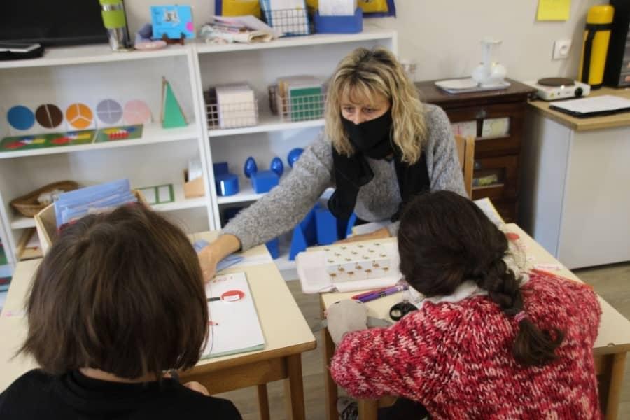 Classe Montessori des Leins