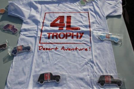 Produits en vente 4L Trophy