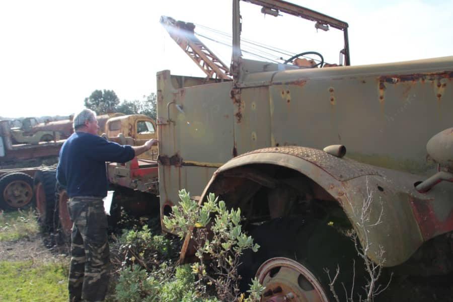 Collectionneur de véhicules militaires
