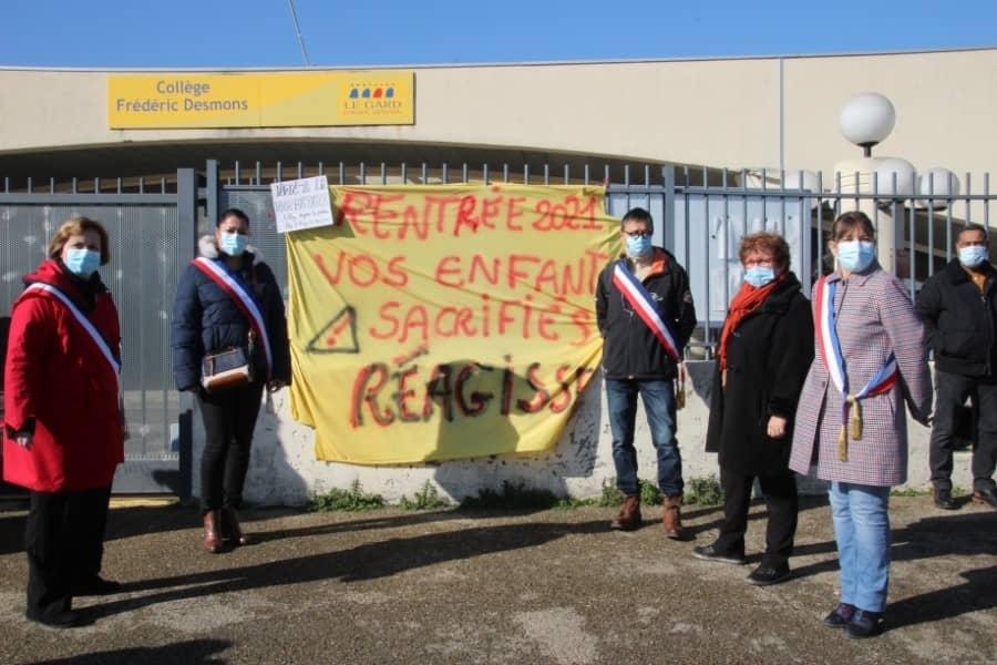 Les élus au collège de Saint-Geniès de Malgoirès