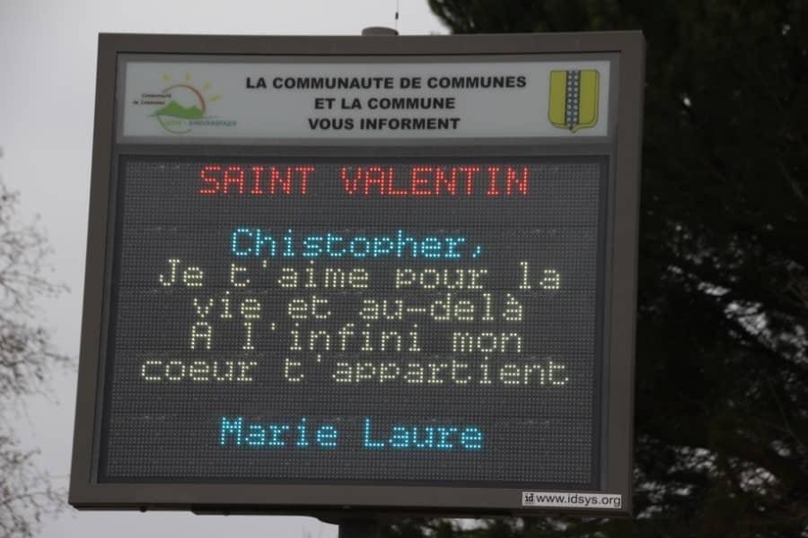 Message Saint Valentin