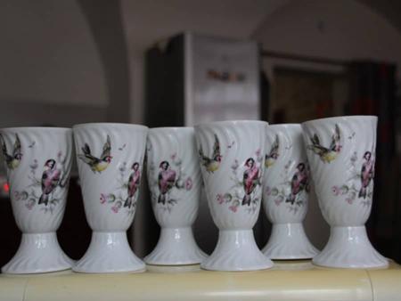 Mazagrans porcelaine de Limoges