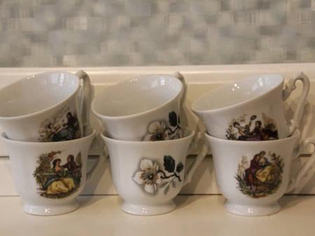 Petites tasses à vendre