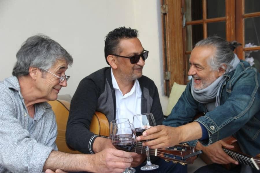 Guitaristes de musique latino