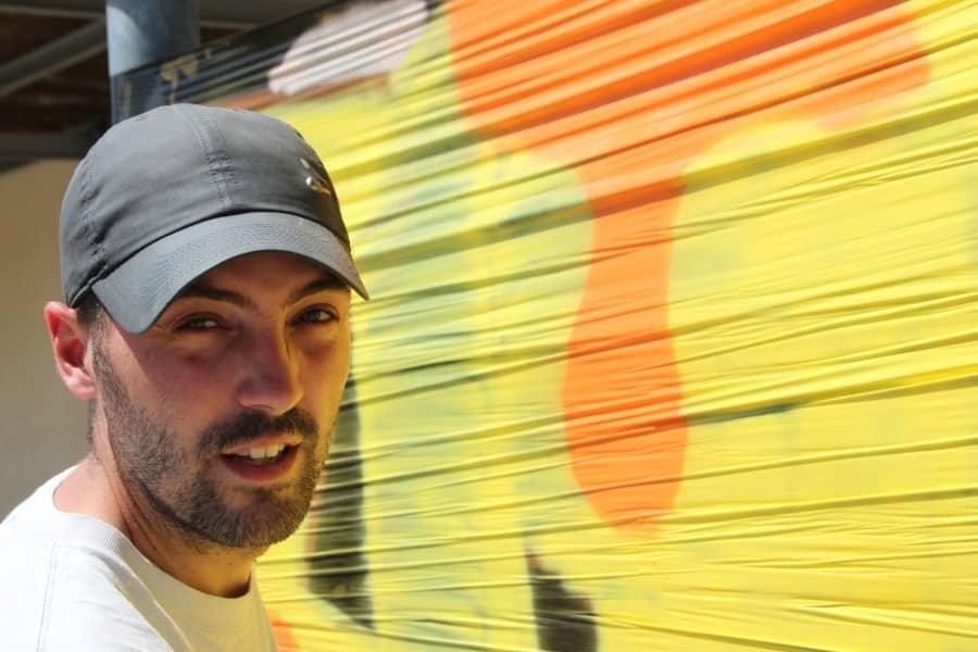 Krade street artiste et graffeur