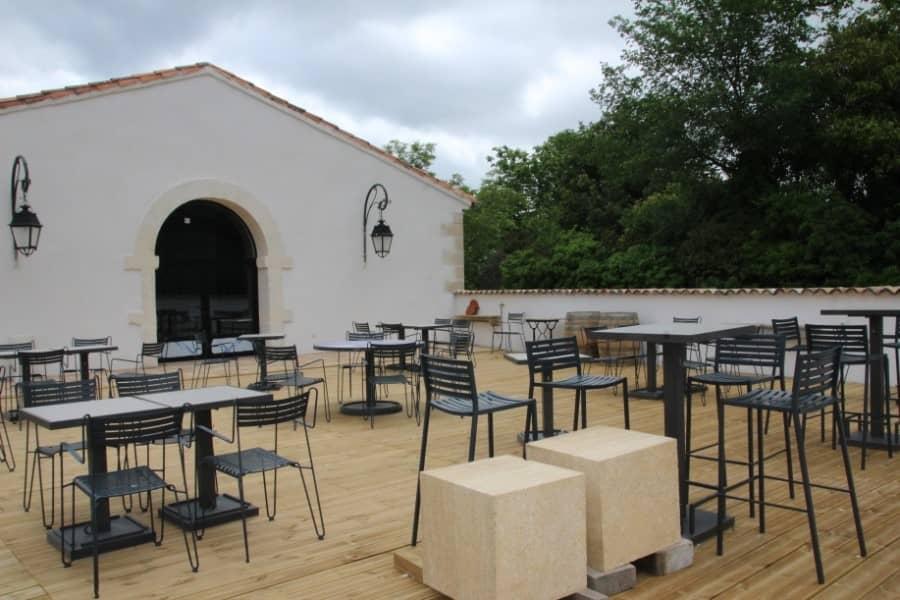 Terrasse de l'Oléa