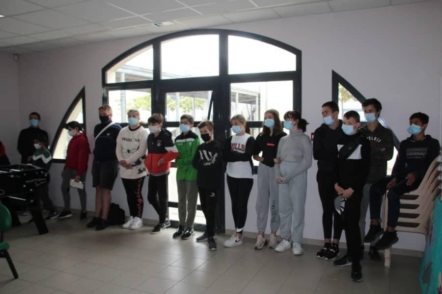 Eleves de Segpa au collège de Saint-Geniès de Malgoirès