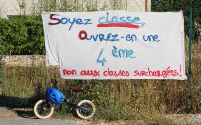 Fons Outre-Gardon | Stop à l'école «usine à sardines»