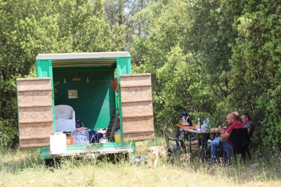 Transhumance à Saint-Mamert du Gard