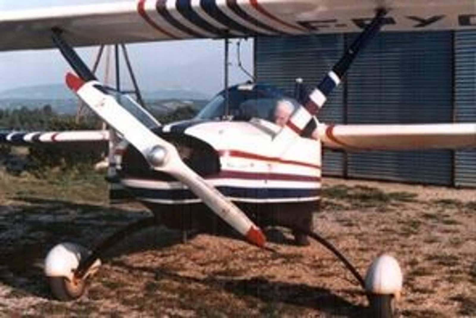 L'avion de l'ancien pilote