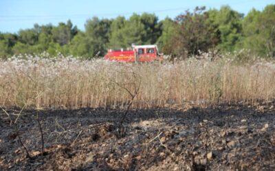 PARIGNARGUES | L'incendie s'est déclaré dans le chaume