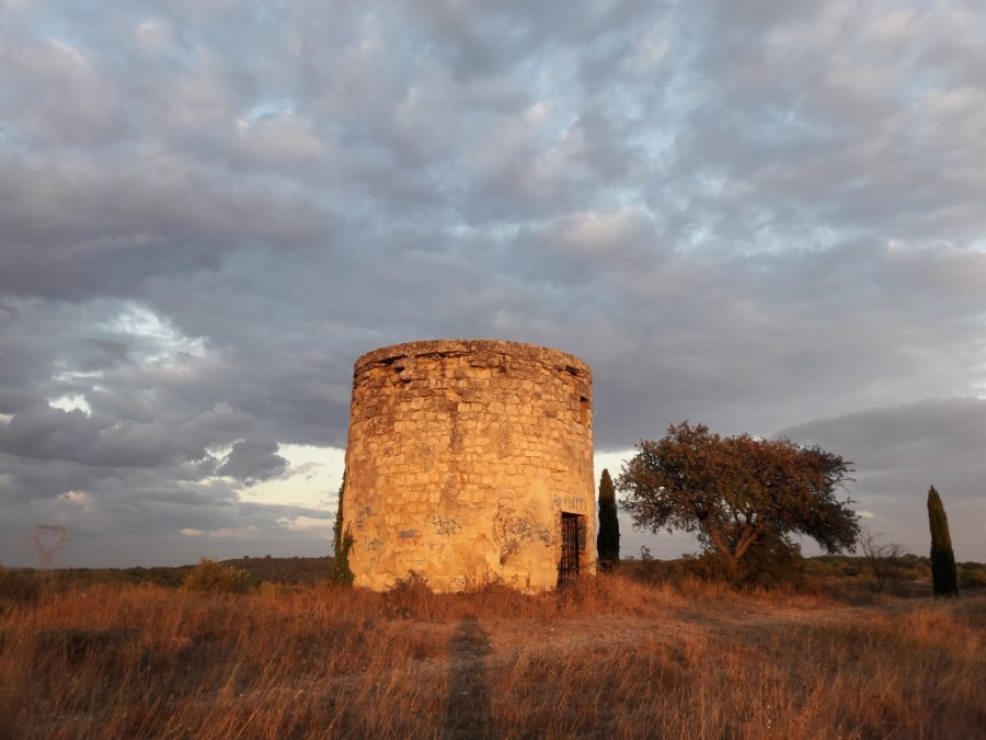 Moulin à vent ruines